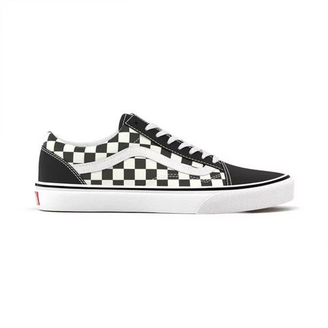 VANS Primary Check Old Skool Unisex | Black/White (VN0A38G1P0S)