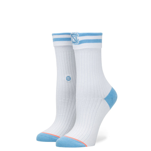 STANCE North Carolina Anklet Socks Women | White (Medium)