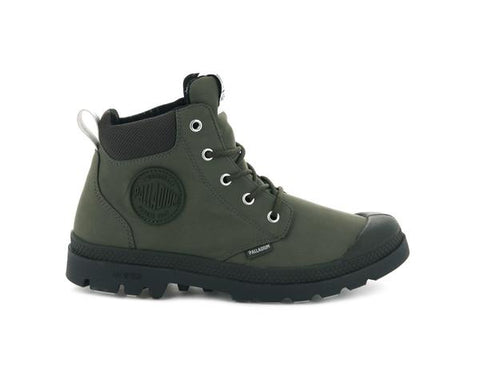 PALLADIUM Pampa Lite + Cuff WP Men | Olive Night (76259-309-M)