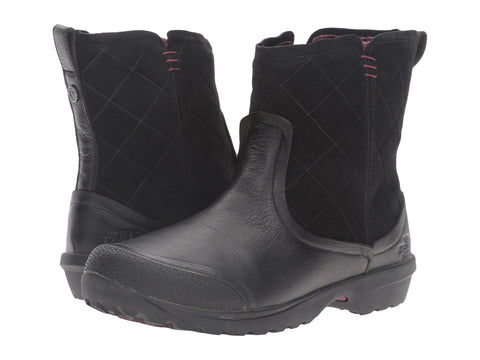 THE NORTH FACE Thermoball Utility Metro Shorty Women | TNF Black / Deep Garnet Red (NF0A2T5F)