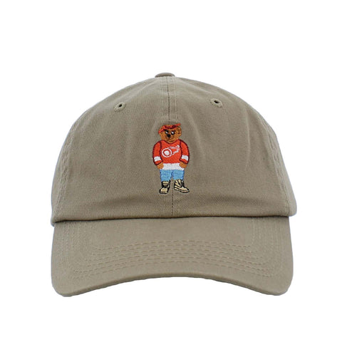 ANY MEMES Pac Jersey Bear Dad Hat | Khaki (41489)