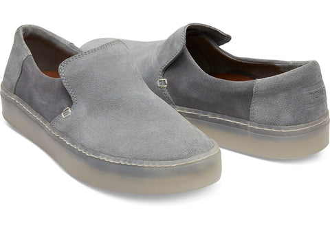 TOMS Suede Lomas Men | Neutral Grey / Shade (10012506)