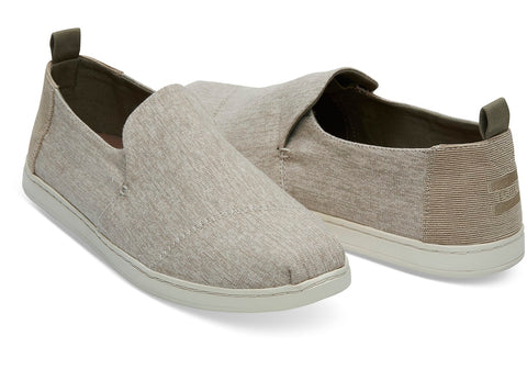 TOMS Micro Crosshatch Deconstructed Alpargata Men | Toffee (10012543)