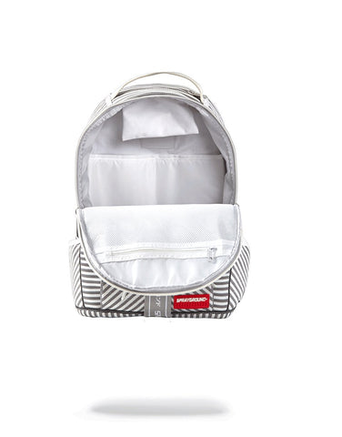 SPRAYGROUND Japan Stripe Backpack | White (9100B955NSZ)