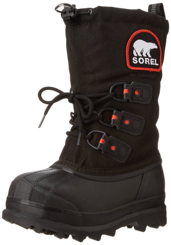 SOREL Glacier XT Extreme Youth | Black/Red Quartz (1573921)