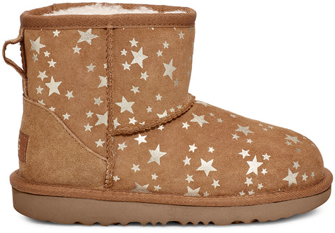 UGG Classic Mini II Stars Toddler | Chestnut (1115852T)