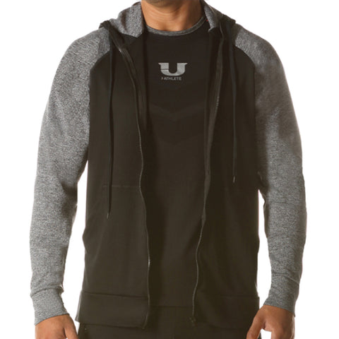 JUNK UNDERJEANS Warrior Zip Hoodie Men | Black