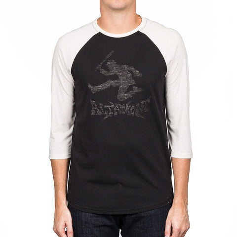 ALTAMONT Moral Panic Raglan Men | Black/White (3130002379)