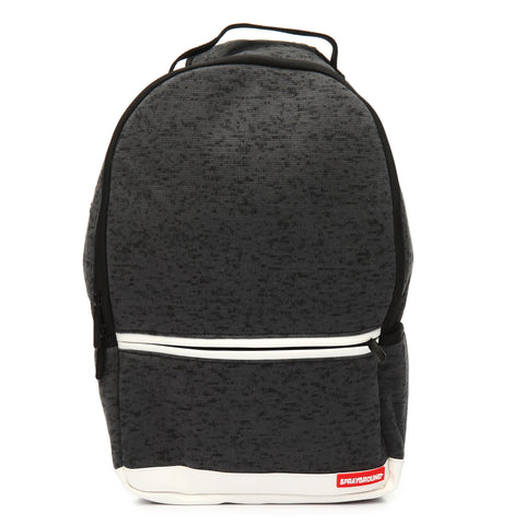 SPRAYGROUND Dan Rue Collab Backpack | Black Knit (910B1255NSZ)