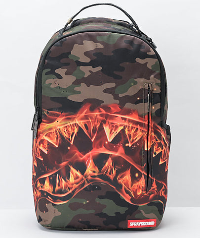 SPRAYGROUND FireSharks Backpack | Multicolored (B2221)