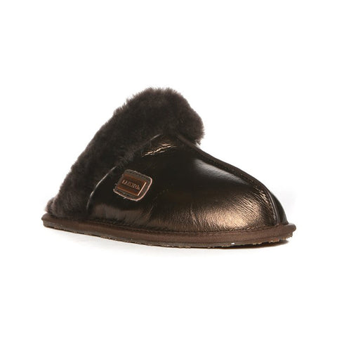 AUSTRALIA LUXE CO. Closed Mules Women | Burnt Bronze (CMU206BN)