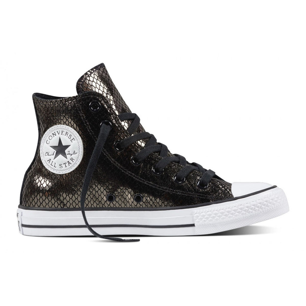 CONVERSE Chuck Taylor High Women | Black / Black / White (555966C)