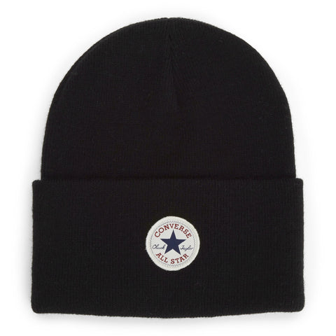CONVERSE Tall Cuff Core Watchcap Beanie | Black (CON588)