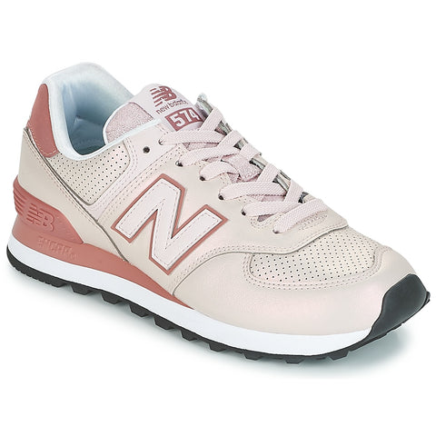 NEW BALANCE 574 Dark Sheen Women | Conch Shell / Dark Oxide (WL574KSE)