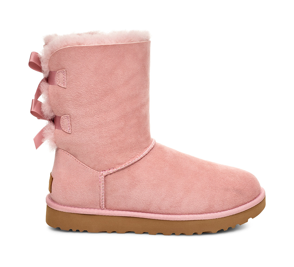 UGG Bailey Bow II Kids | Pink Crystal (1017394K)