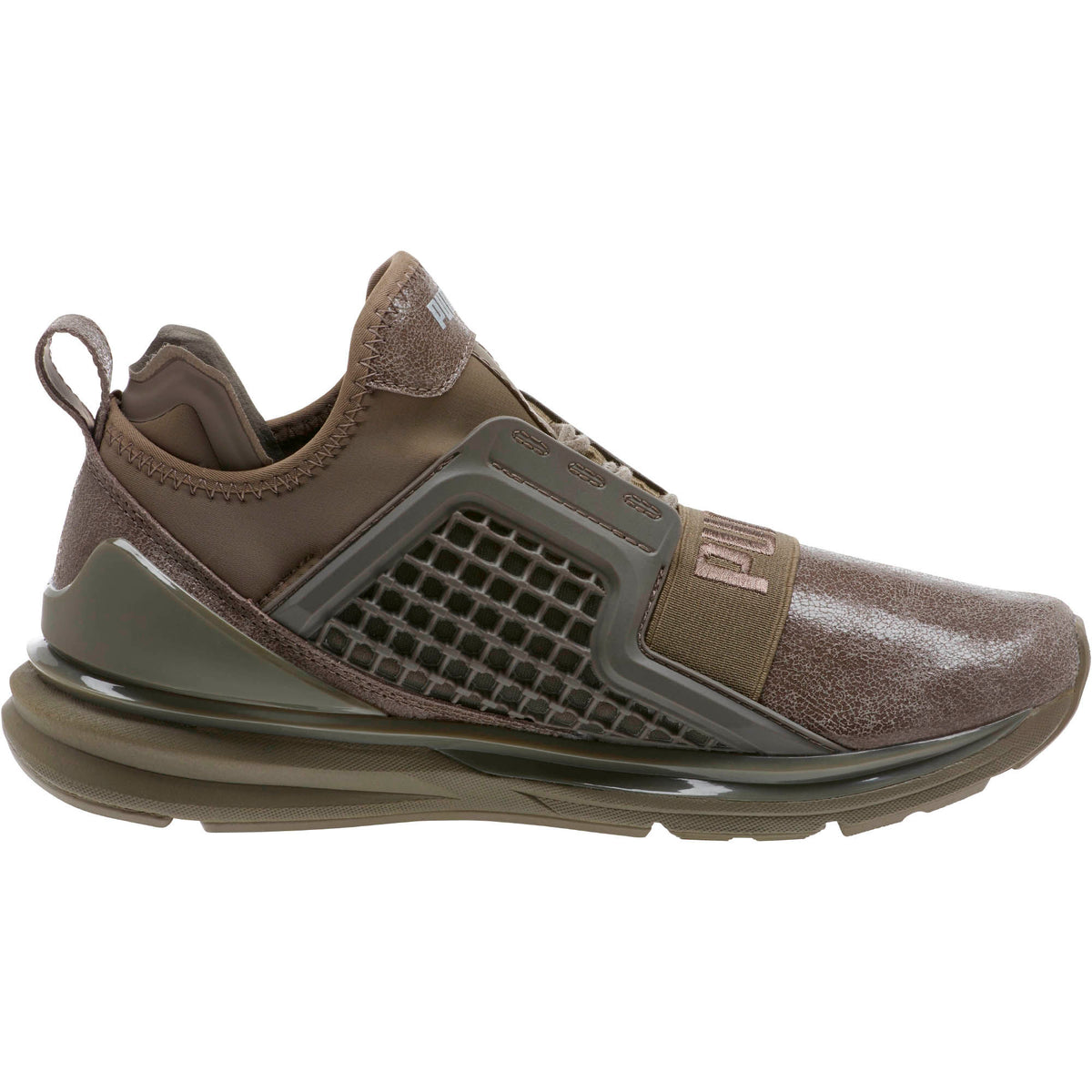 fe1c859431e PUMA Ignite Limitless Metallic Suede Women