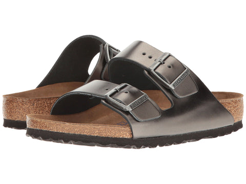 BIRKENSTOCK Arizona BS Women | Metallic Anthracite (1000292)