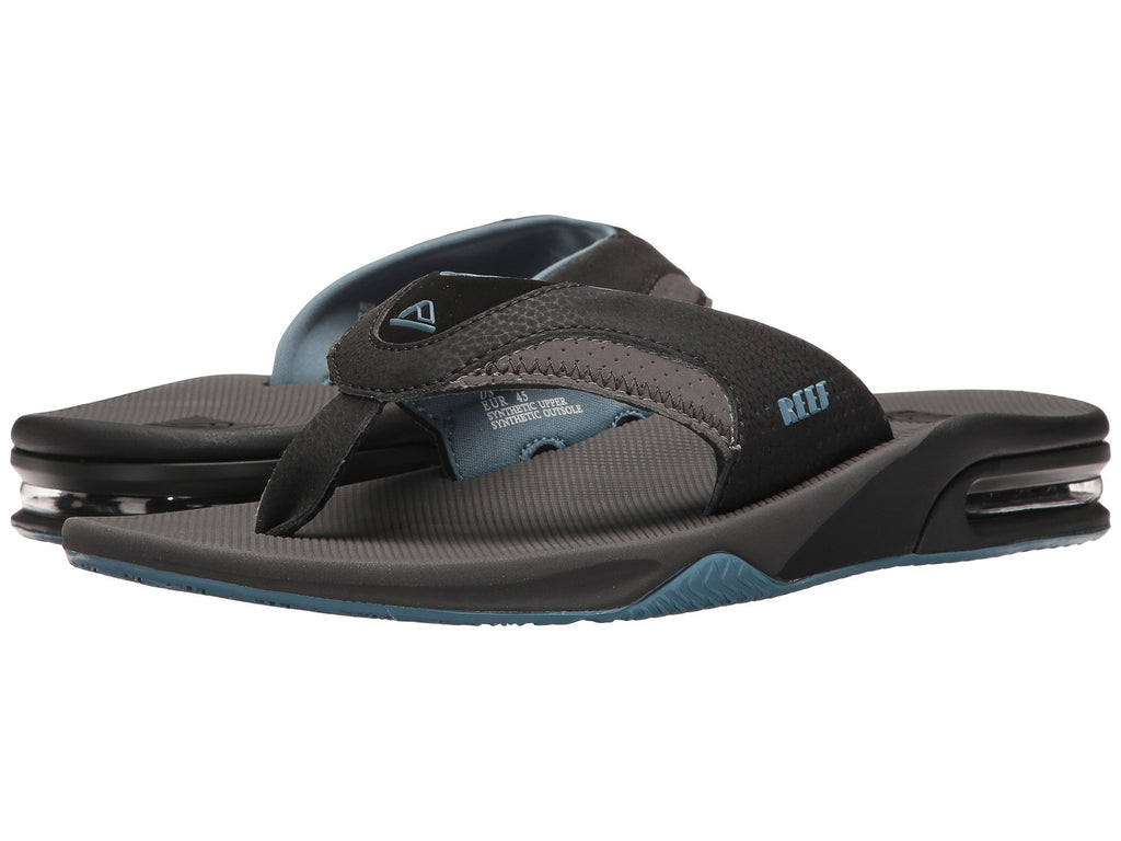 REEF Fanning Men | Grey / Light Blue (002026GLB)
