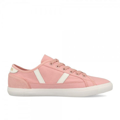 LACOSTE Sideline 120 1 CFA Women | Light Pink/Off White (7-39CFA00172E5)