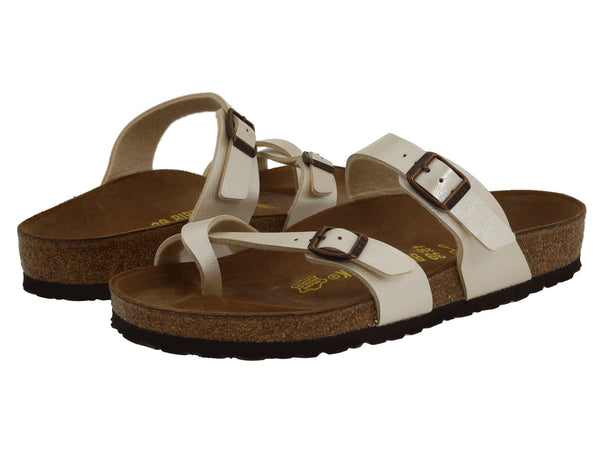 BIRKENSTOCK Mayari Women | Graceful Pearl White (71661)