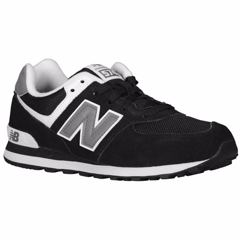 NEW BALANCE 574 Youth/Kids | Black / White / Grey (KL574SKG / KL574SKP)