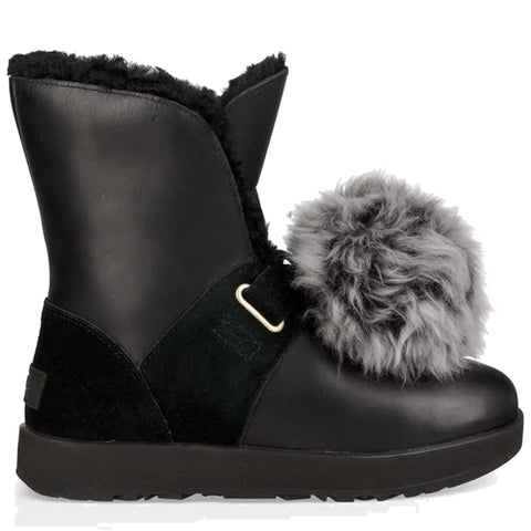 UGG Isley Patent WP Kids | Black (1019704K)
