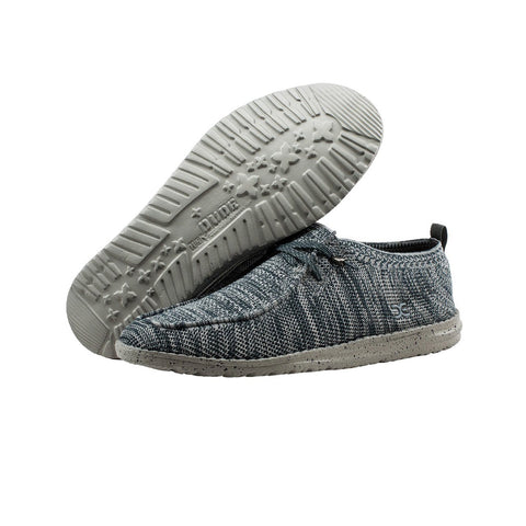 HEY DUDE Wally Knit Men | Grey (111273039)