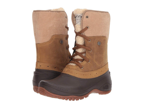 THE NORTH FACE Shellista Roll-Down Women | Golden Brown/Coffee Bean Brown (NF0A3RQY8KM)