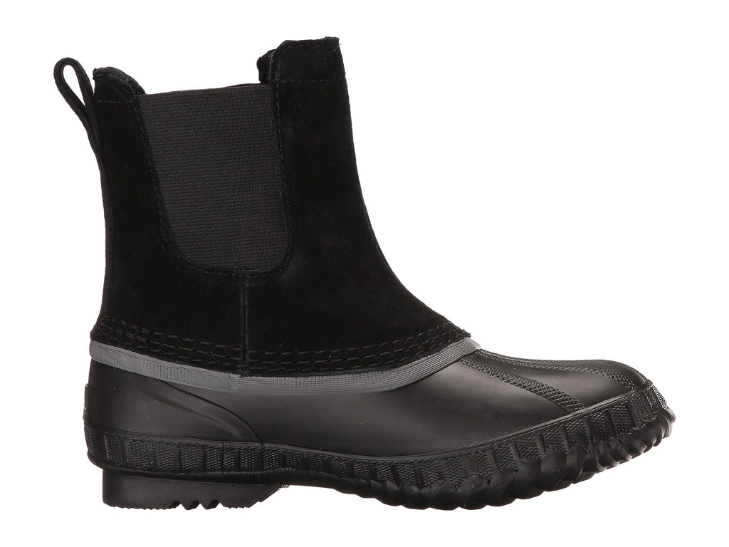 SOREL Cheyanne II Chelsea Kids | Black / Dark Grey (1751211)