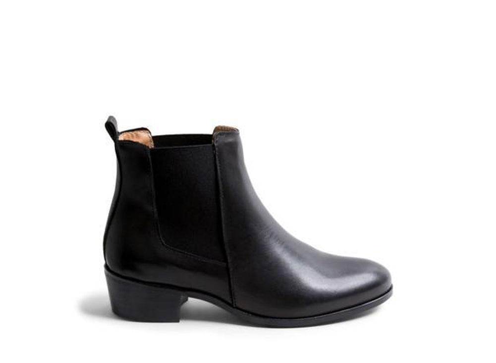 STEVE MADDEN Dover Women | Black Leather (DOVE01S1017-B)