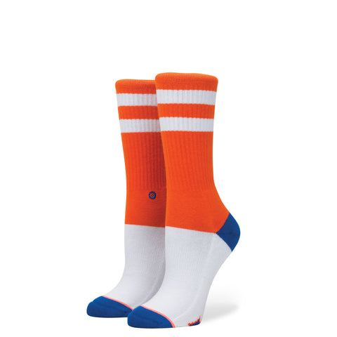 STANCE Florida Crew Socks Women | Orange (Medium)