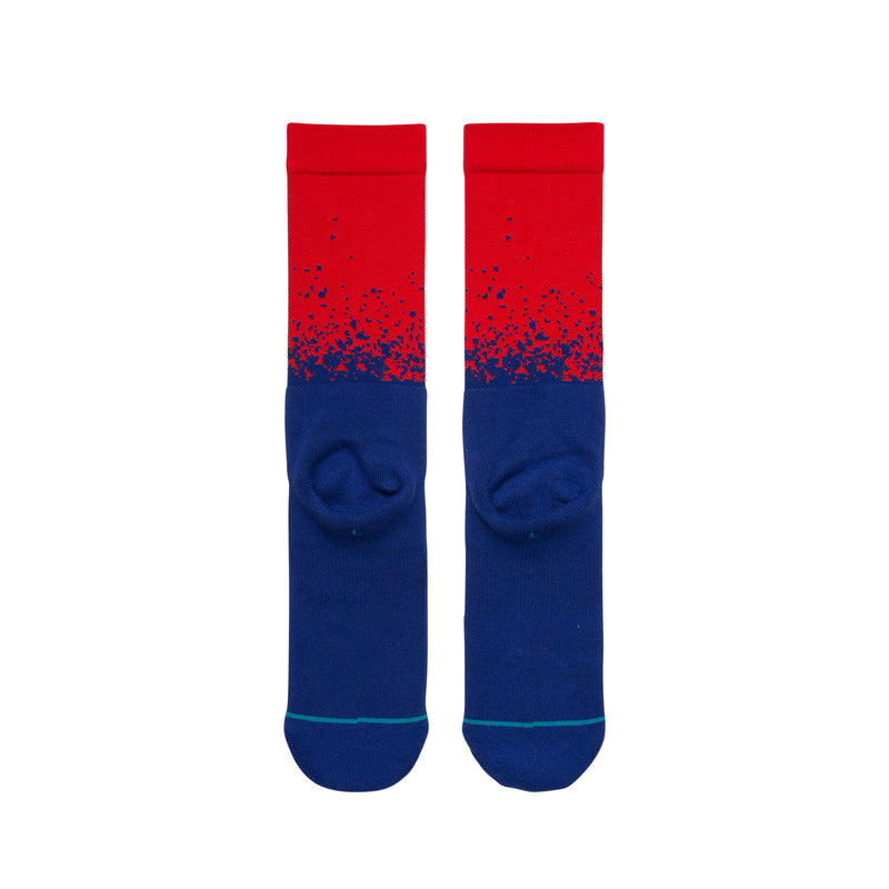 STANCE NY Giants Fade Socks Men | Blue(M558C18NYG) (Large)