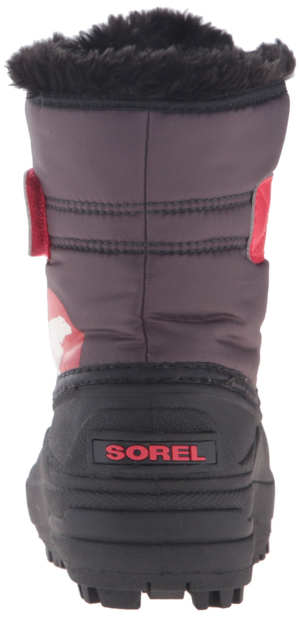 SOREL Snow Commander Children | Dark Grey / Bright Red (1638111)