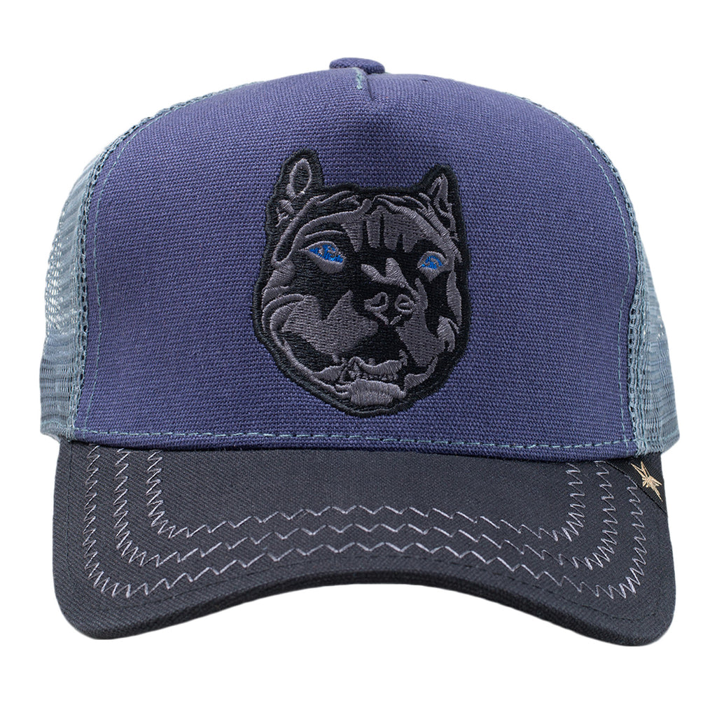 GOLD STAR Pit Trucker Hat | Navy