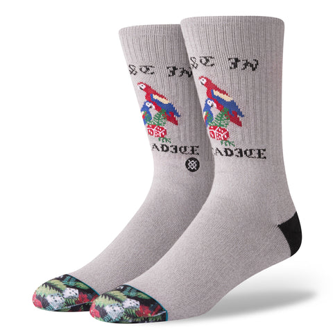 STANCE Paradice Socks Men | Grey (M556C18PAR) (Large)