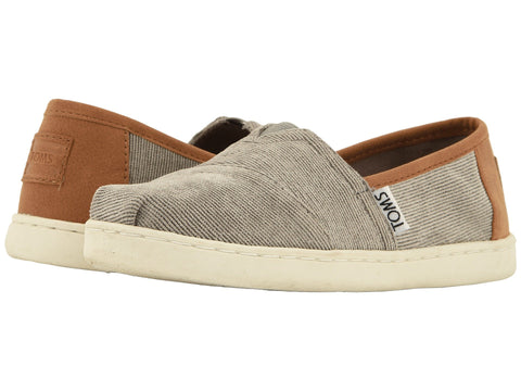 TOMS Micro Cordury / Synthetic Leather Original Youth | Cement (10012662)