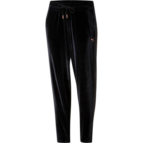PUMA Yogini Velvet Pants Women | Black (516562-01)