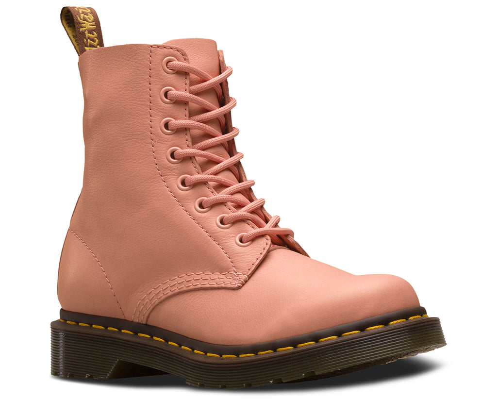 DR. MARTENS 1460 Pascal Virginia Women | Salmon Pink (24482672)