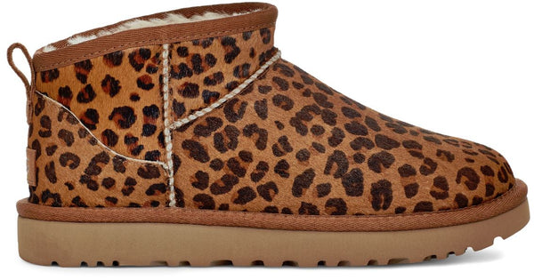 UGG Classic Ultra Mini Women | Leopard Natural (1117533)