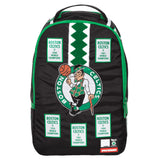 SPRAYGROUND NBA Lab Celtics Banner Patches Backpack | Green (910B1279NSZ)