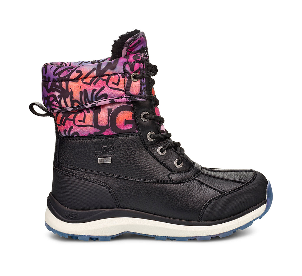 UGG Adirondack Boot III Graffiti Women | Black (1106751)