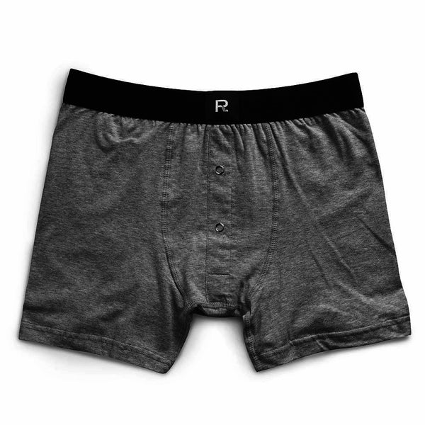 RICHER POORER Smith Boxer Brief Men | Charcoal (MRB-SMTH15)