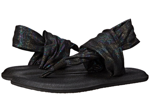 SANUK Yoga Sling 2 Metallic Women | Black Rainbow (SWS10951)