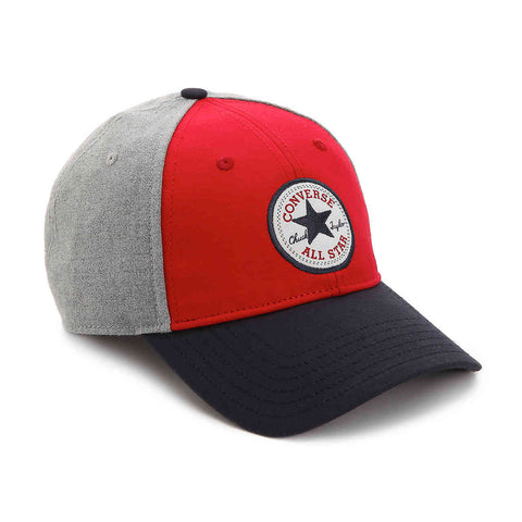 CONVERSE Core Colorblock Cap | Red / Blue (CON002)