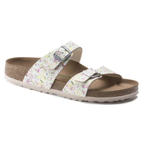 BIRKENSTOCK Sydney Narrow Women | Watercolor Flower White (1018603)