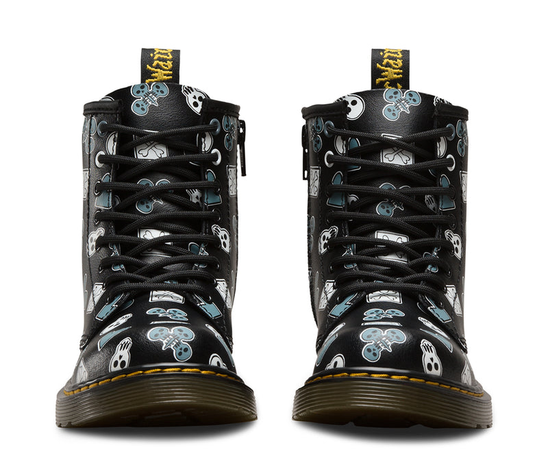 DR. MARTENS T Lamper Delaney Playing Cards Kids | Black / Multi (23298001)