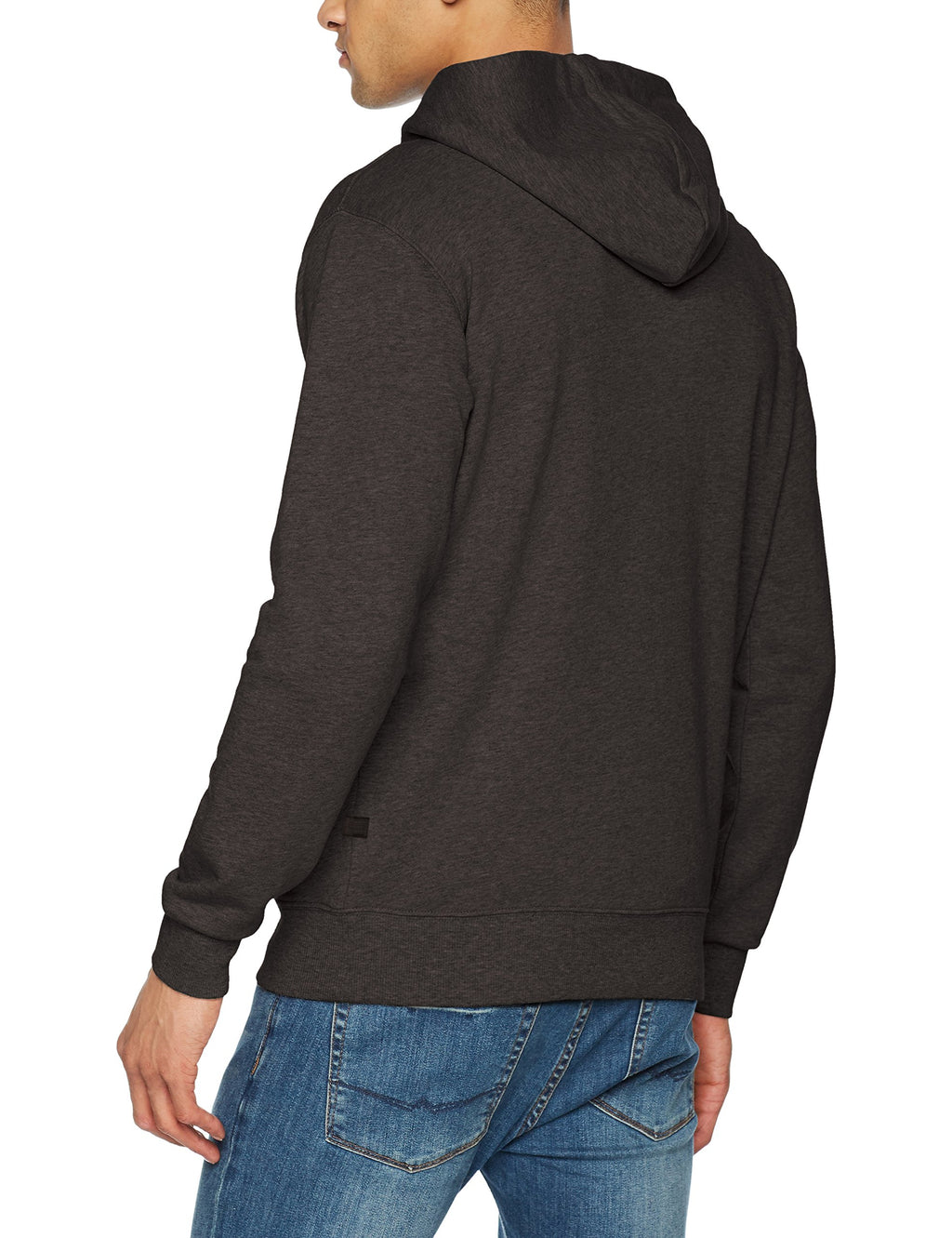 G-STAR RAW Loaq Hoodie Men | Dark Black Heather (D08478-9842-7293)