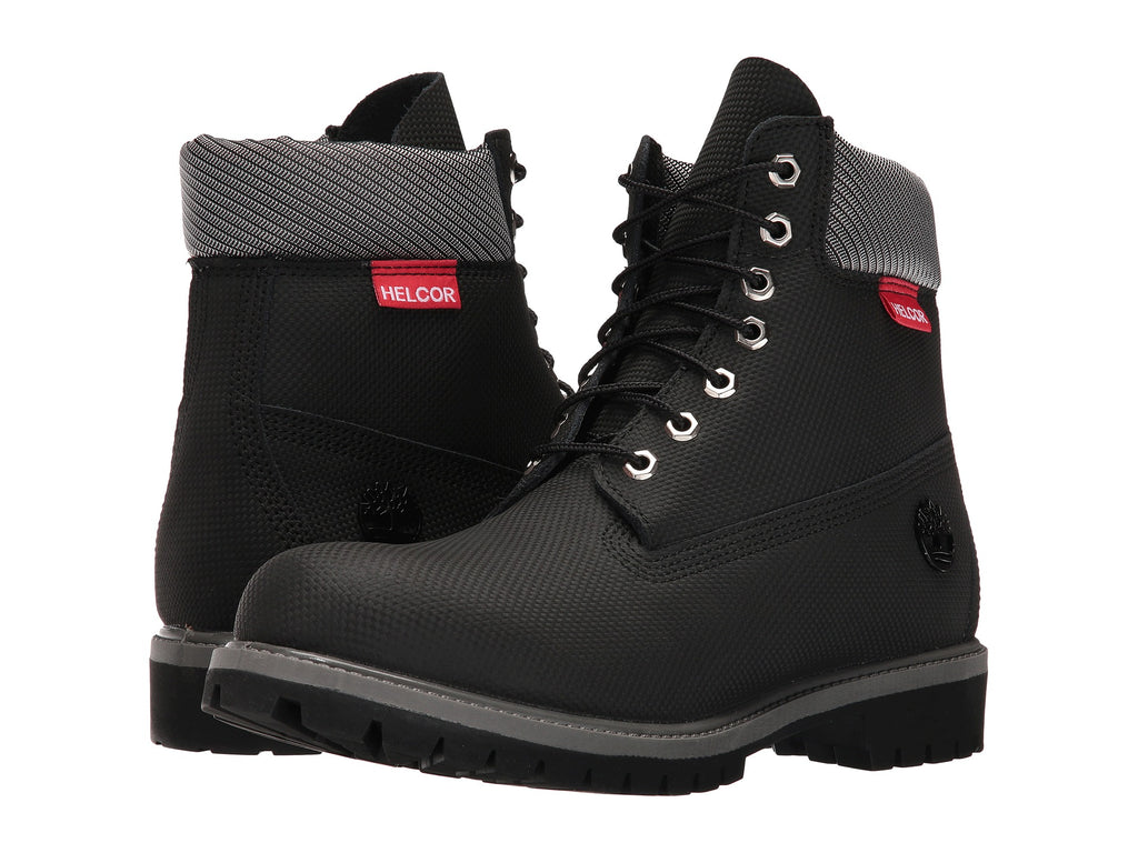 new style 6305c c05af ... TIMBERLAND Helcor 6-Inch Premium Men Black Helcor (A181U001) – Vamps  NYC . ...
