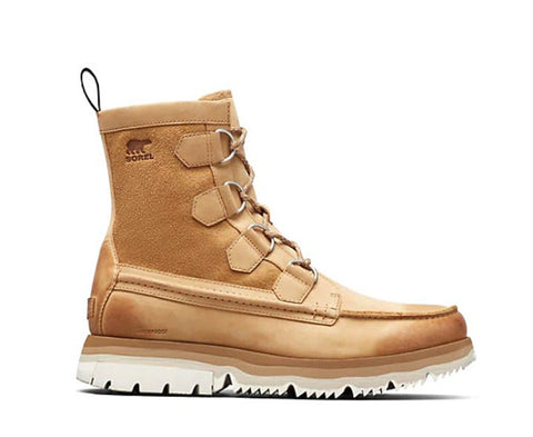 SOREL Atlis Caribou WP Boot Men | Curry Sea Salt (1877221-373)