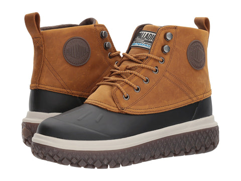 PALLADIUM Crushion Scrmbl DB L Men | Amber Gold / Black (05505-722-M)